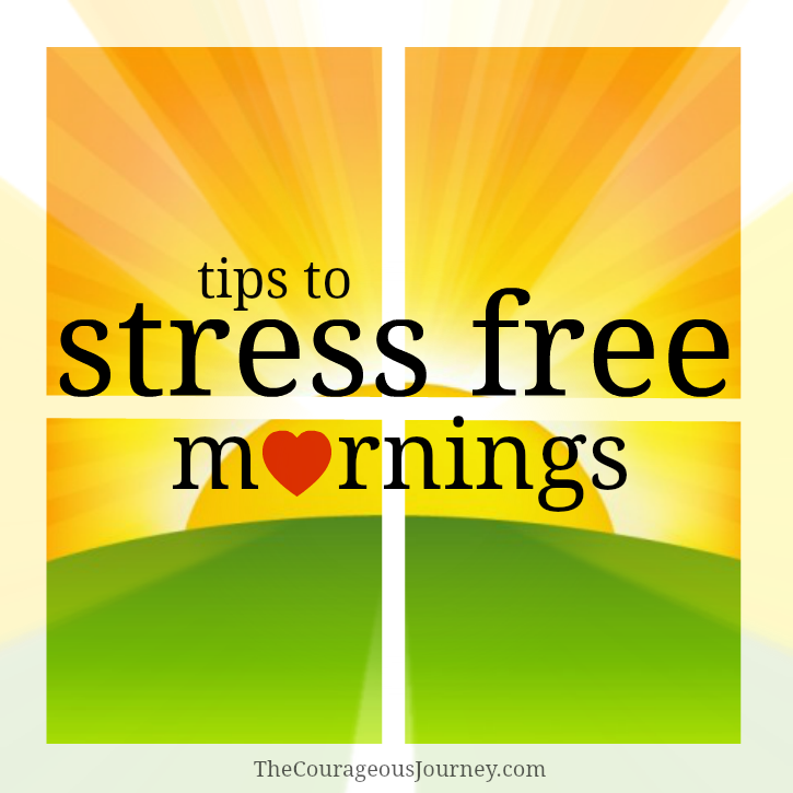 Tips for Stress Free Mornings