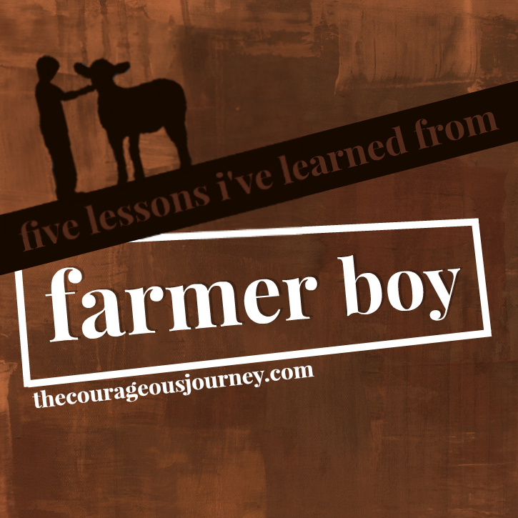 5 Lessons I've Learned from Farmer Boy - The Courageous Journey